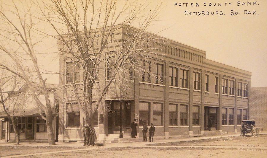 South Dakota Old Main Street Postcards Peter D Paul Com