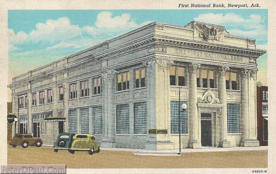 St Joe Arkansas >> Arkansas Old Main Street Postcards – Peter D. Paul.com